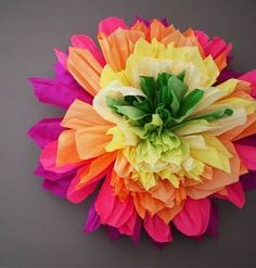 DIY Crepe Paper Flowers: Perfect For Spring!