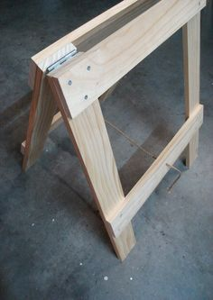 Trestle table legs - for study table?