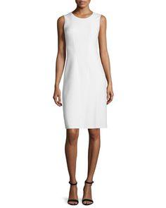Alayna Sleeveless Sheath Dress  by Elie Tahari at Neiman Marcus.