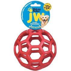 JW Pet Hol-ee Roller, Size 6.5, Assorted, Multicolor