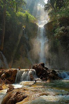 ✯ Tat Kuang Si Waterfall - Laos