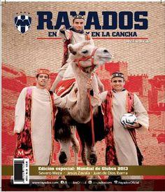 Aquí la foto de la portada de la edición especial del Mundial de Clubes 2013 la sesión la realice en las instalaciones del Circo Chino de Pekín quien nos apoyo con sus Camellos aparece Severo Meza, Zavala y Juan De Dios Ibarra. Diciembre 2013