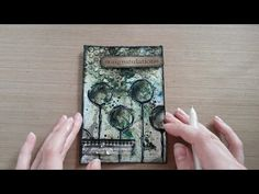 Made by Sannie: Splash card with video tutorial