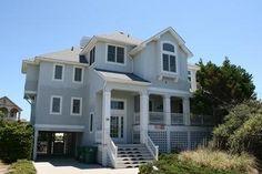 Semi-Oceanfront Outer Banks Rentals   Pine Island Rentals   Island Beach House