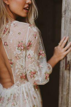 super pretty floral details