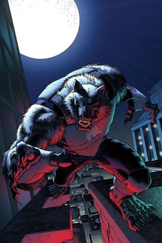 Wolfman ~ Ian Churchil