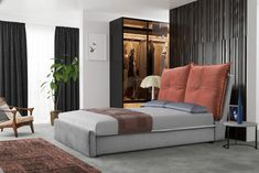 Bed, Furniture, Design, Home Decor, Decoration Home, Stream Bed, Room Decor, Home Furnishings