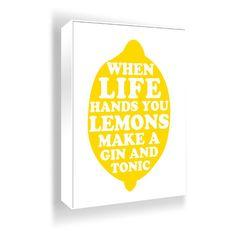 Cute Lemon Print