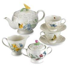 Lenox Butterfly Meadow® 9-Piece Tea Set