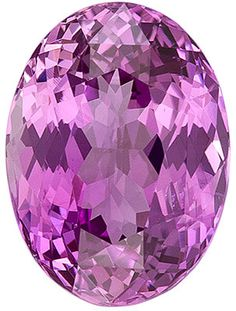 Genuine Pink Sapphire Loose Gemstone, Oval Cut, 10.3 x 7.6 mm, 3.55 Carats at BitCoin Gems