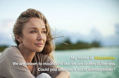 Alexandra Cousteau, granddaughter of Jacques Cousteau, is against mountaintop removal mining, which blows up Appalachian mountains for coal. You can help us stop this horrendous practice by adding your own picture just like Alexandra: http://earthjustice.org/mountain-heroes