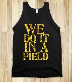 Granger Smith front says we do it in a field back says rocking all night till the sun comes up