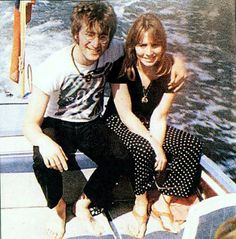John Lennon and Cynthia Powell-Lennon
