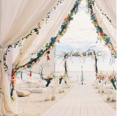 Take a look at the best boho beach wedding in the photos below and get ideas for your wedding! Boho beach wedding lantern release at sunset Image source Nothing like walking down this ethereal aisle. Wedding Destination, Boho Beach Wedding, Beach Wedding Reception, Beach Wedding Inspiration, Beach Wedding Decorations, Wedding Tips, Wedding Venues, Wedding Planning, Beach Weddings