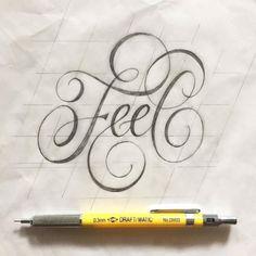 typegang: Don't think, feeeeeel. Type by @piesbrand – #typegang…