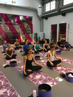 Yoga Wheel event in Stockholm
