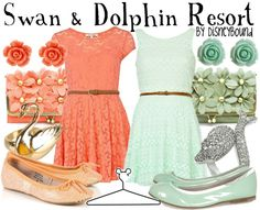 Swan & Dolphin Resort by DisneyBound