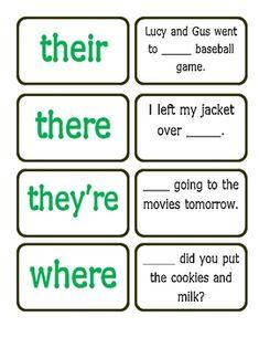 Great game to practice homophones