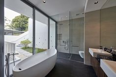 Gallery of Draw Inspiration From These 21st Century Bathroom Designs - 22