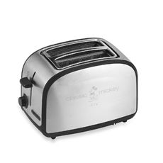 This Disney® Classic Mickey Mouse Two-Slice Toaster produces toast imprinted with everyone's favorite mouse. This unique toaster features extra wide slots, self-centering bread guides, and electronic browning control. Small Electric Oven, Countertop Oven, Classic Mickey Mouse, House Mouse, Toasters, Disney, Kitchen Stuff, Kitchen Ideas, Bath