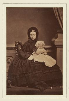 July 1861; Victoria and Charlotte