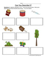adjectives worksheet 7