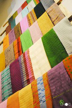 Handmade, fairtrade scarves from the #Choki Women's Cooperative in Bhutan #Fairtrade #Handmade