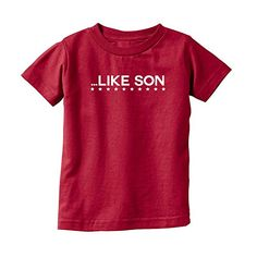We Match! Like Son (Matches the Like Father Like Son Set) Kids T-Shirt (Garnet, Youth XS) We Match! http://www.amazon.com/dp/B01595MPLW/ref=cm_sw_r_pi_dp_X7kcwb0EFMA2K