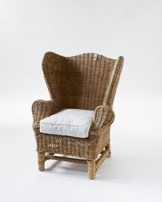Riviera Maison This Nicolas Children's Club Chair is a classic model, especially for your children. Wicker Chairs, Wicker Furniture, Outdoor Chairs, Chair And Ottoman, Wingback Chair, Mood Board Interior, Childrens Desk, Kids Stool, Buy Sofa
