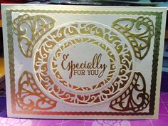 especially for you card Especially For You, I Card, Your Cards, Frame, Decor, Picture Frame, Decoration, Decorating, Frames