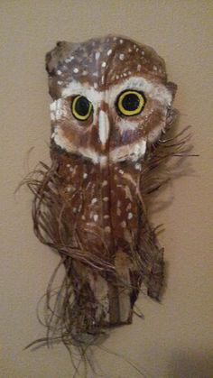 Baby Burrowing Owl by PaintedPalmsbyPenn on Etsy