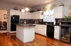 Using Decorating Ideas Kitchen With Black Liances Baking Design Off