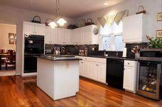 Using Decorating Ideas Kitchen With Black Appliances Kitchen