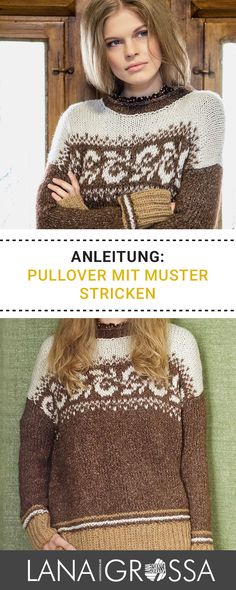 72 best Stricken Pullover images on Pinterest in 2018 | Crochet ...