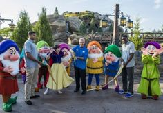 seven dwarfs mine train ride | Seven Dwarfs Mine Train Coaster is Officially Open at Disney World