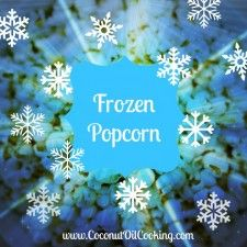 Easy Frozen Popcorn recipe for your #FrozenParty