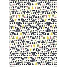 Leah Duncan Gift Wrap - Triangles, tesco, wrapping paper, 2,07