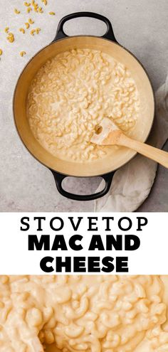 Quick Mac And Cheese, Stovetop Mac And Cheese, Good Food, Yummy Food, Delicious Recipes, My Favorite Food, Favorite Recipes, Incredible Recipes, Dinner Options