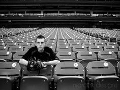 Shooting at Busch Stadium Baseball pose for senior boy. Changed the seat numbers to his graduating year. Holding baseball and glove. www.marcinkdesigns.com #baseball #highschoolsenior #boy #youngman # photography #pose