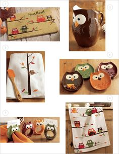 Owl Collection For The Kitchen!