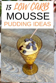 15 Easy Low Carb Mousse Pudding Ideas that taste so magical. 15 Ultimate keto low carb mousse pudding that are easy, low carb, keto, sugar-free, tasty and healthy Keto Friendly Desserts, Low Carb Desserts, Low Carb Recipes, Healthy Recipes, Dinner Casserole Recipes, Dinner Recipes, Keto Casserole, Snack Recipes, Dessert Recipes