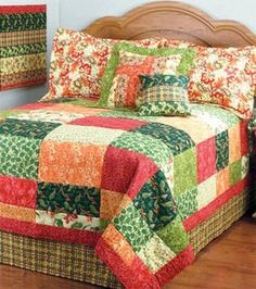 Joann's free project - Belvedere Patchwork Quilt <3 Lovely!