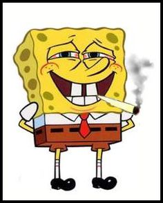 Kush Weed: Spongebob Smoking Weed Drugs cocain meth pot x http://hdweedwallpapers.com/ #weedplants