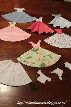 diy paper dress bunting, crafts