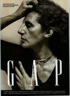 Sheila Metzner shot by Herb Ritts for GAP 1990.