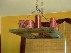 How to Make A Candle Chandelier