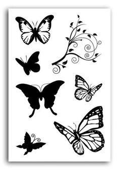 Sellos Crystal'® - Papillons