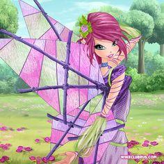 Winx Club S7  Tecna Medieval Fairy