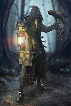 Ree Eegrin (Druid) plague doctor