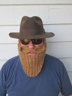 BEARD ONLY  face mask Face Warmers Lumberjack  by Ritaknitsall, $25.00